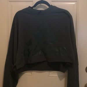 Adidas crop sweater